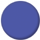 Plain Blue 25mm Fridge Magnet